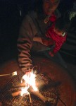 Jeff Roasting Star Marshmallows
