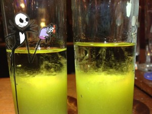 Party Slimer Shots Closeup