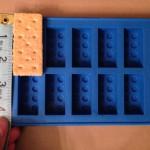 Chocolate bricks should make perfect mini-s'mores!