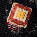 My own Master Builder Pizza on the grill