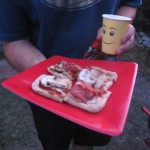 Craig's Master Builder Pizza and Minifig Cup