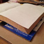 Smoothly curved fun foam to support the open pages