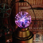 Steampunk fun with a plasma globe!