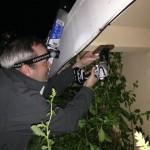 Mounting the Pumpkin Queen projector