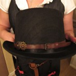 cool steampunk hat made by Debi