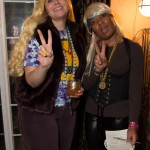 Cyd & Gail the hippie chicks - by Cat