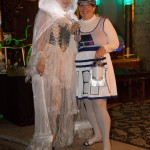 R2D2 Lori wins Most Creative Costume - by Cat