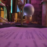 Artsy angle of the Spirit Materializer and the crystal ball