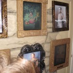 Merry sneaks into the Pumpkin Queen's portrait to tease her