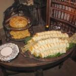 Violent Vertebrae & Spiderweb Brie in Pastry ala PMT Ectoplasm - by Tash