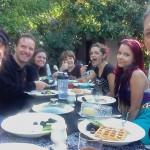 Brittahytta Bed & Breakfast Brunch for 7 in the Backyard!