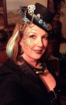 Quickie Fascinator with Steampunk Makeup