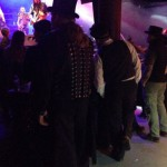 Steampunk styles in the audience