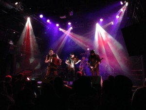 Abney Park on stage at DNA Lounge in San Francisco