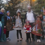 I ran after this family to ask for a photo with their fantastic Disneyland ride costumes!