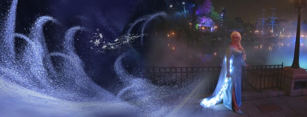 Disney Elsa Banner