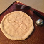 Personal Healthcare Companion Pizza crust, ready for the grill