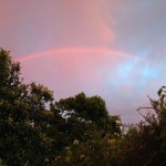 Sunset Rainbow!