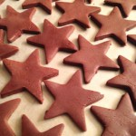 Chocolate Stars for S'mores