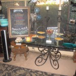 Patio food table