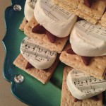 Can you read the songs on The S'mores of Music?