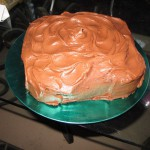 Jerry's Delicious Chocolate Cake! YUM! :-9