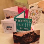 My birthday cards :)