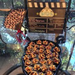 Festive fan, clapboard & Chili Lime Corn Cups
