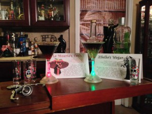 Custom Cocktails: La Muerte's Faith vs. Xibalba's Wager