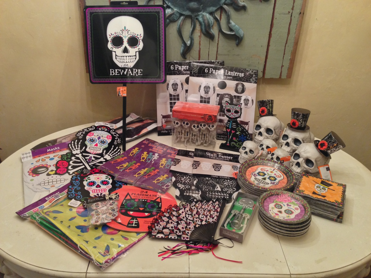 2014 purchases for Halloween 2015!