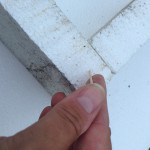 Anchoring the glue with toothpicks toed in at angles