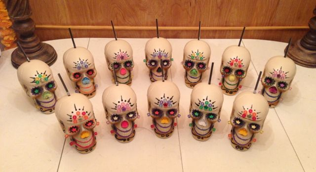 Skull Sipper Cups