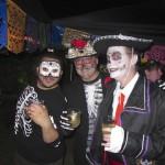 Skeleton Boys and Mariachi Sean
