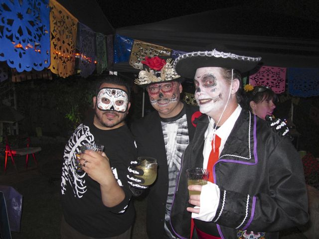 Skeleton Boys and Mariachi Sean