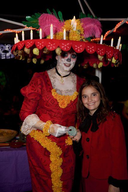 Creative Calavera Cookie winner Katie!