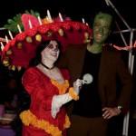 Scariest Costume winner Brock as Herman Munster!