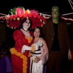 Ultimate Costume winners Brock & Shannon as Herman & Lily Munster!