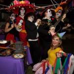 Ultimate Costume winners the Barbieri Mariachis with Piñata Ashlyn!