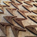 Completed Classic Trek Chevron Chocolates for S'more Trek