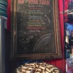 50 Years of Star Trek menu with S'more Trek