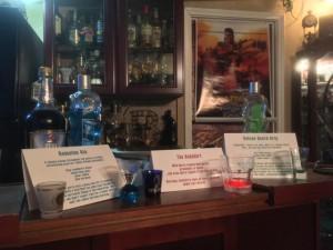 Ice Trek Cocktails on the bar