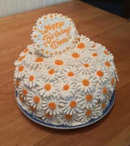 Delicious Daisies Cake