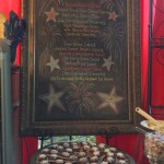 Menu Chalkboard with Star Spangled S'mores 2016 version