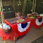 Outer Patio Food Table