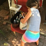Ellie, Master Snow Cone Maker!
