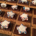 Assembled Star Spangled S'mores 2016 version, ready to arrange