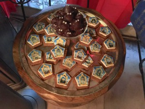 Completed Chocolate Frog S'mores