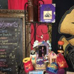 Honeydukes candies and Potter collectibles...can you spot Hogwarts Student Britta?