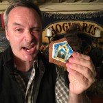 Captain Glen shows his custom Chocolate Frog S'more