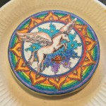 My rainbow pegasus cookie :)